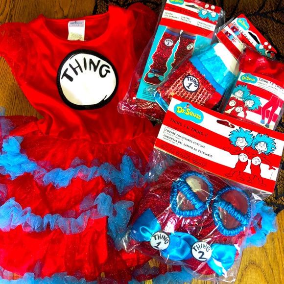 Dr. Seuss Thing 1 or 2 Toddler Costume